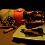 Dyniowe serniko-brownies