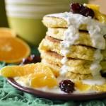 glutenfree sugarfree millet yoghurt pancakes