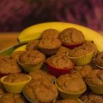 bananowo marchewkowe muffiny owsiane