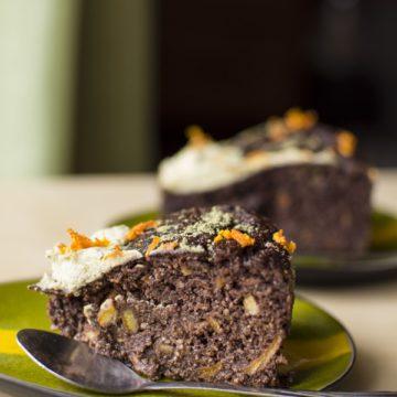 bezglutenowe ciasto czekoladowo-pomarańczowe