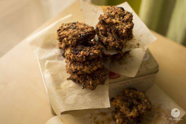 Ciasteczka owsiano jaglane bez mąki i cukru