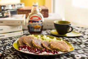 FIT placuszki owsiano – bananowe bez cukru