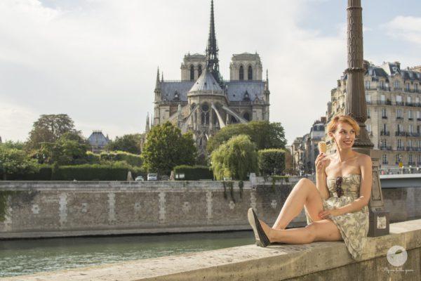 Lody Berthillon przy Notre Dame