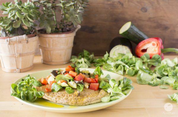 Wytrawny konopny omlet biszkoptowy
