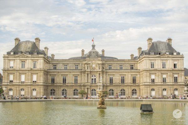 Palais Royal w Jardin Luxebourg