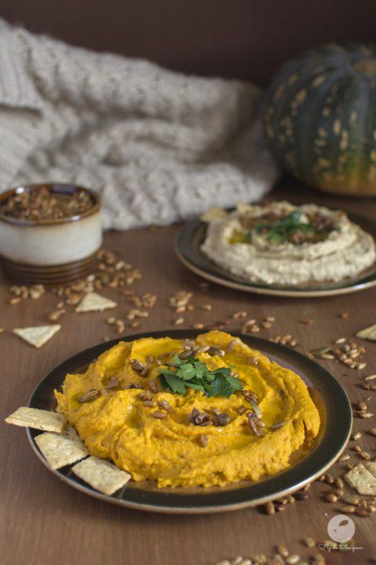 Hummus klasyczny i dyniowy