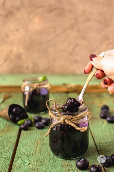 Jagodowy dżem chia