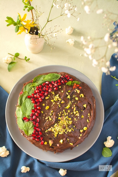 Ciasto czekoladowe z kalafiora