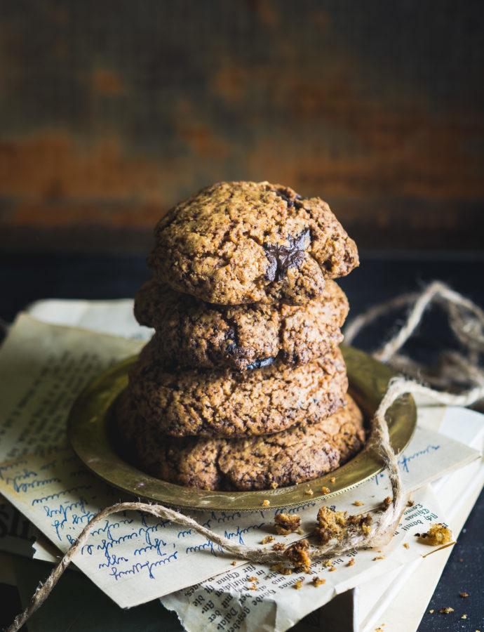 Orkiszowe ciasteczka z czekoladą low FODMAP