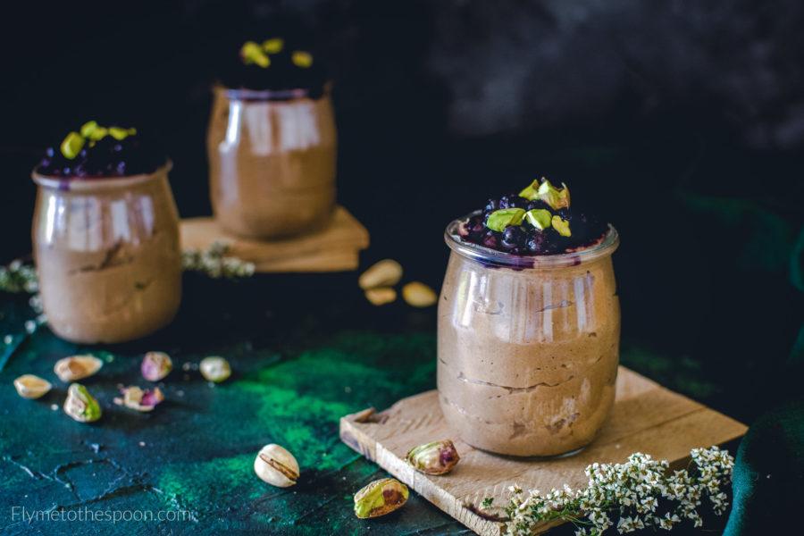 Karobowy pudding jaglany