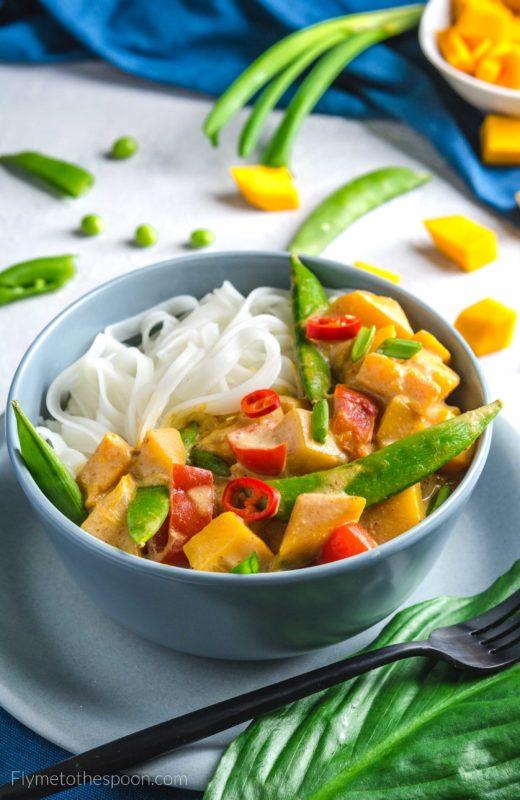 tajskie curry dynia wegańskie bezglutenowe