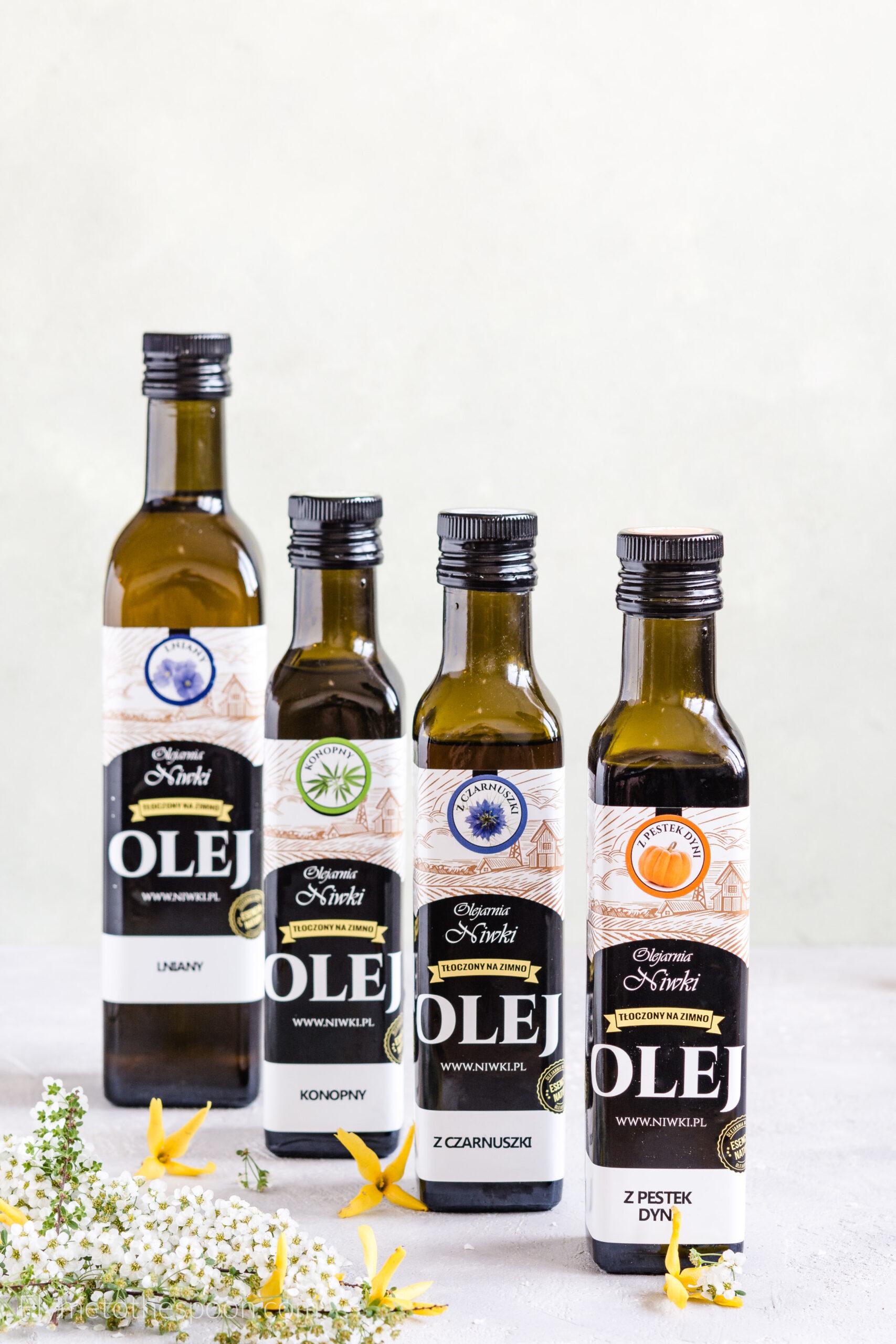 Mój ranking najzdrowszych olejów roślinnych – właściwości oleju lnianego, z czarnuszki i innych