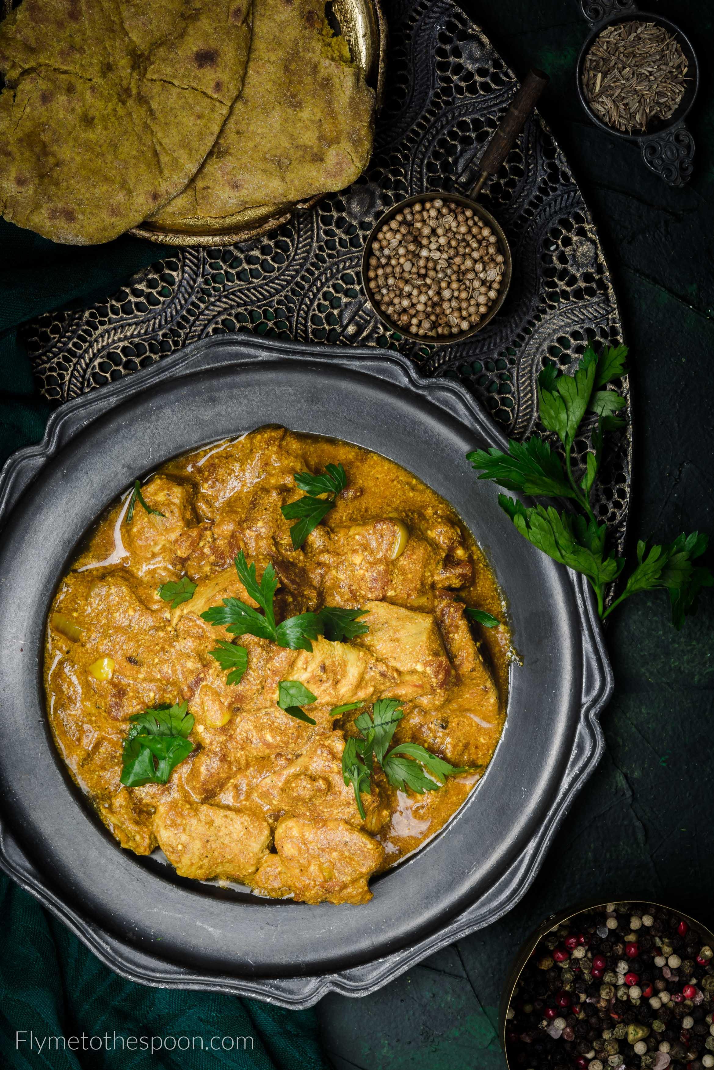 Indyjskie Curry Z Kurczakiem I Jogurtem Murgh Kari