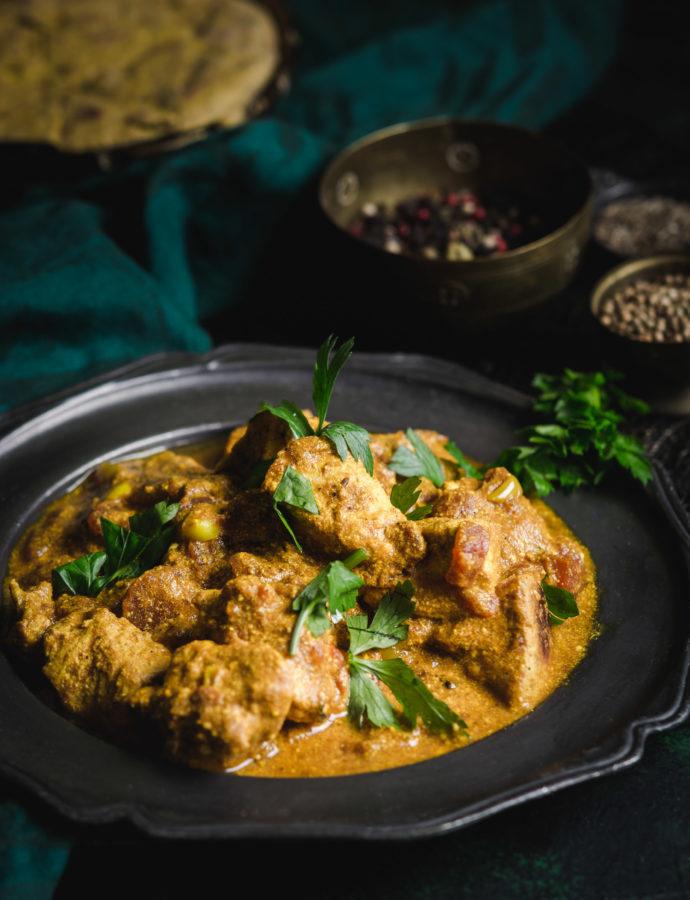 Indyjskie curry z kurczakiem i jogurtem – Murgh Kari