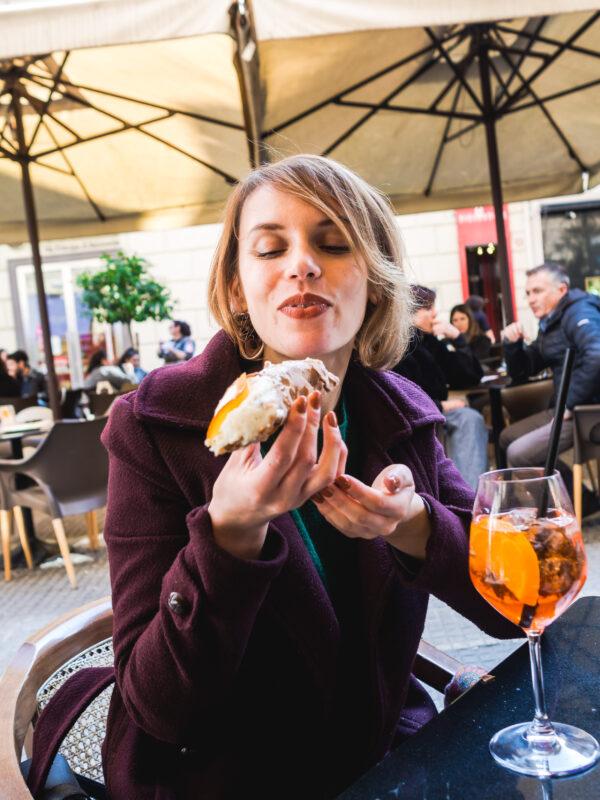 Posmakować Sycylię - czyli przewodnik kulinarny po Palermo Canolo Aperol