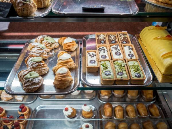 Słodycze włoskie wypieki desery ciastka Posmakować Sycylię - czyli przewodnik kulinarny po Palermo
