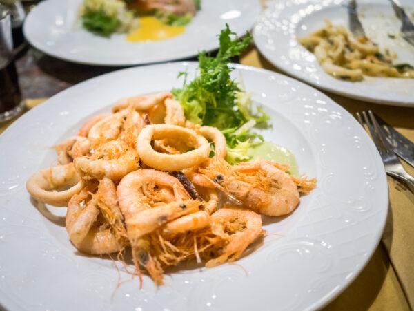 Posmakować Sycylię - czyli przewodnik kulinarny po Palermo Bisso Bistrot gdzie zjeść owoce morza w