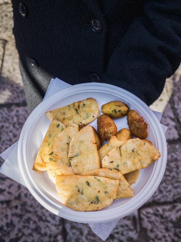 przewodnik kulinarny po palermo gdzie zjeść na sycylii co zjeść we włoszech pannelle crocche