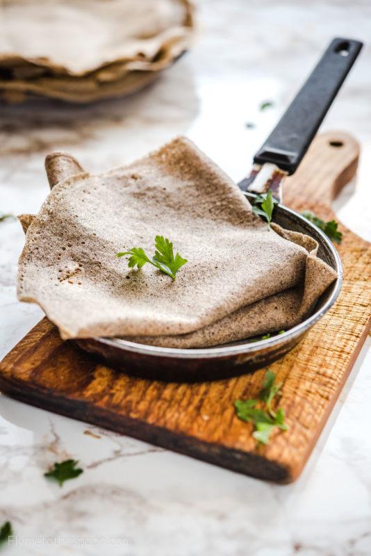 Bezglutenowe naleśniki gryczane - galettes z mąki gryczanej