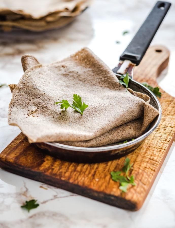 Bezglutenowe naleśniki gryczane – galettes z mąki gryczanej