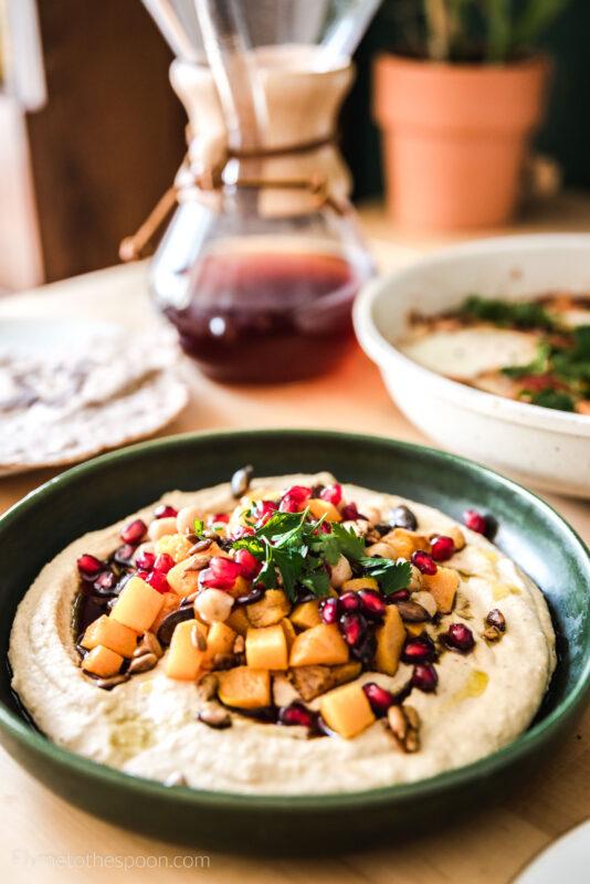 Hummus z dynią piżmową