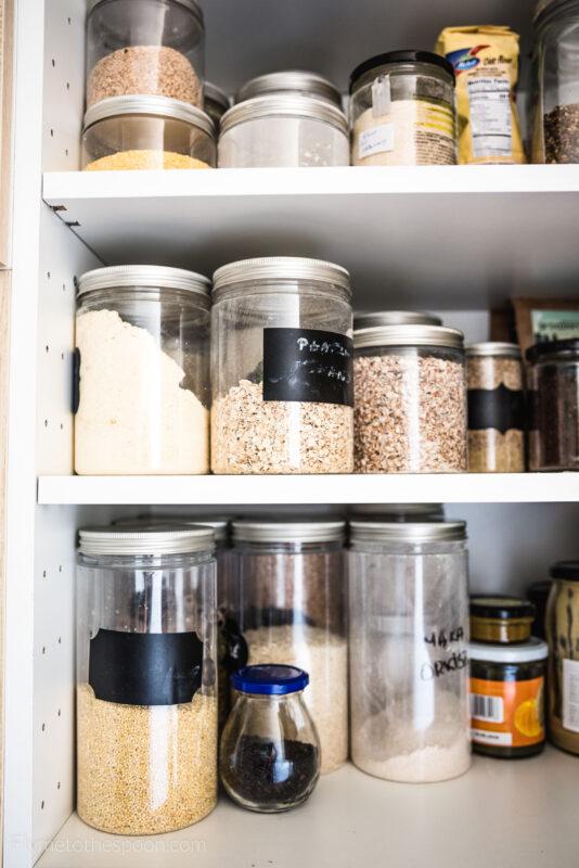Przechowywanie produktów suchych