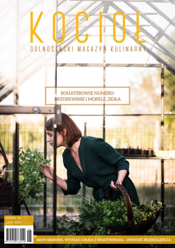 Magazyn Kocioł dolnośląski magazyn kulinarny Dorota Domino Fly me to the spoon