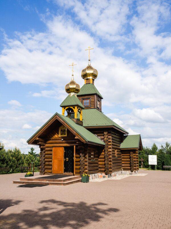 Co zobaczyć na Podlasiu - Skit prawosławny w Odrynkach
