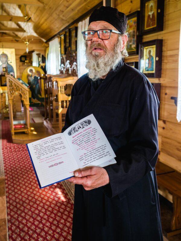 Skit prawosławny w Odrynkach