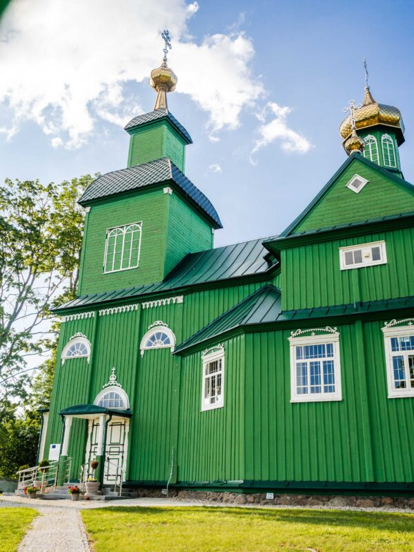 Co zobaczyć na Podlasiu Cerkiew w Trześciance