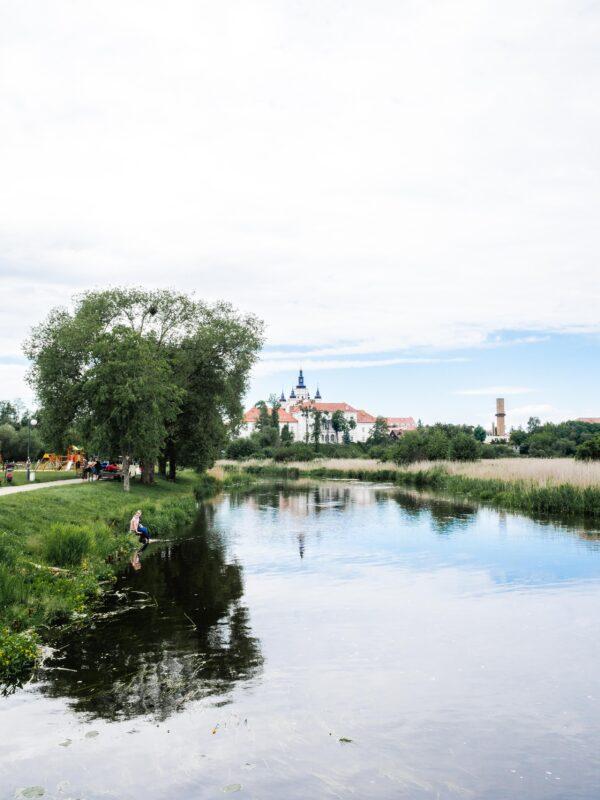 Supraśl - widok na Zespół klasztorny