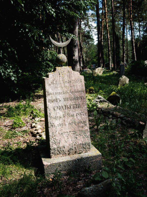 Mizar - tatarski cmentarz w Kruszynianach