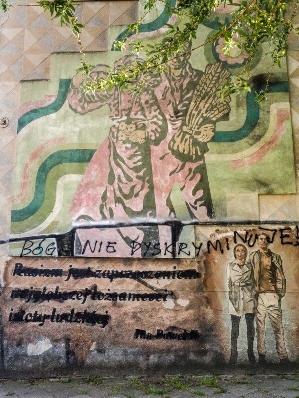 Murale dotyczące tolerancji Białystok