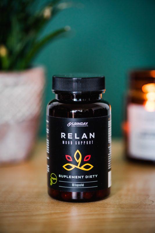 RELAN - czyli coś na wyciszenie - recenzja suplementu Grinday