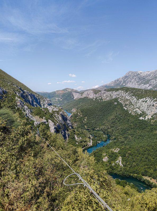 Omis Zipline Chorwacja