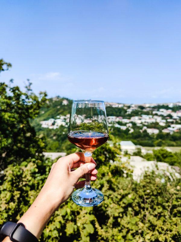 Wino gruzińskie winnica